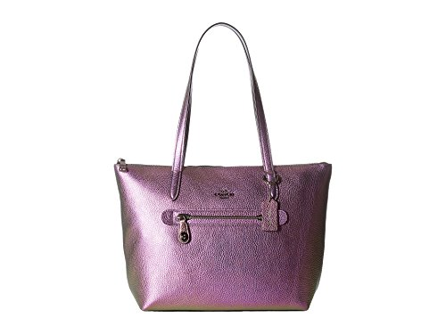 Coach Hologram Leather Taylor Zip Tote