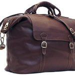 Floto Siena Tote Travel Bag in Espresso Brown Italian Calfskin Full Grain Leather