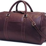 Floto Siena Duffle in Espresso Brown Italian Calfskin Full Grain Leather