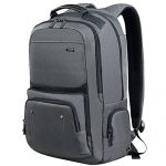Laptop Backpack 17.3 Inch ,DTBG Nylon Roomy Tear Resitant Weekend Backpack Travel Duffel Bag Business Rucksack College Daypack Student Schoolbag Fits 17 - 17.3 Inches Laptops Notebook Computers,Grey