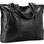 Heshe Women Leather Handbags Large Vintage Shoulder Bags Tote Top Handle Handbag Purse for Ladies