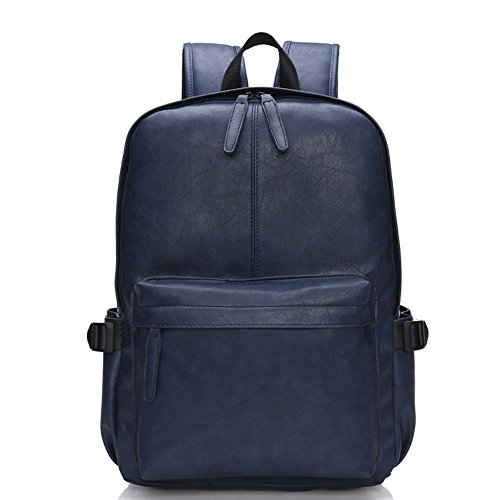 3897bfc7810f Abshoo Vintage Synthetic Soft Leather Casual College Travel Backpacks For  Men (Blue)