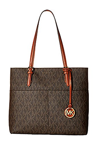 MICHAEL Michael Kors Bedford Large Logo Pocket Tote