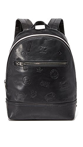 Bally Men's Tiga Patch Leather Backpack