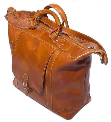 Floto Luggage Tack Duffle Bag, Olive Honey Brown, Medium 9522bd6098