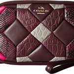 COACH Womens Canyon Quilt Exotic Crossbody Clutch