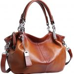 Heshe Womens Leather Handbags Shoulder Bags Tote Bag Cross Body Purses and Satchel for Ladies