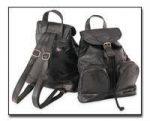 MaxamItalian Mosaic Design Genuine Lambskin Leather Backpack/Purse