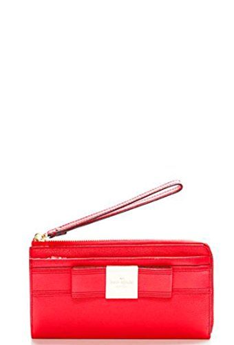 Kate Spade Primrose Hill Layton Leather iPhone Wristlet , Geranium