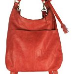 Latico Leathers Marilyn Backpack, Vintage Red, One Size, 100% Leather, Designer Handbag, Made In India