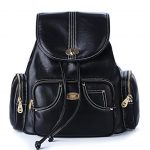 FYY 100% Handmade Premium Leather Casual Backpacks Shoulder Bag Travel Bag