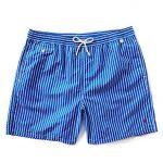 Polo Ralph Lauren Men's Big & Tall Traveler Swim Shorts Blue Size XLT