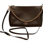 Coach Carrie Pebbled Leather Crossbody Handbag