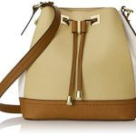 Calvin Klein Small Saffiano Drawstring Shoulder Bag