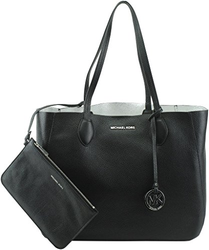MICHAELL Michael Kors Women's Mae Large East West Reversible Tote