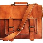 Real Vision Made 18 Inch Handmade Leather Messenger Laptop Bag Leather Bag