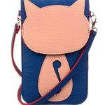 KISS GOLD(TM) Fresh Color Super Cute 3D Animal Pattern Mini Shoulder Bag Cellphone Pouch