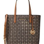 MICHAEL Michael Kors Signature Hayley Medium North South Top Zip Bag-in-Bag Tote