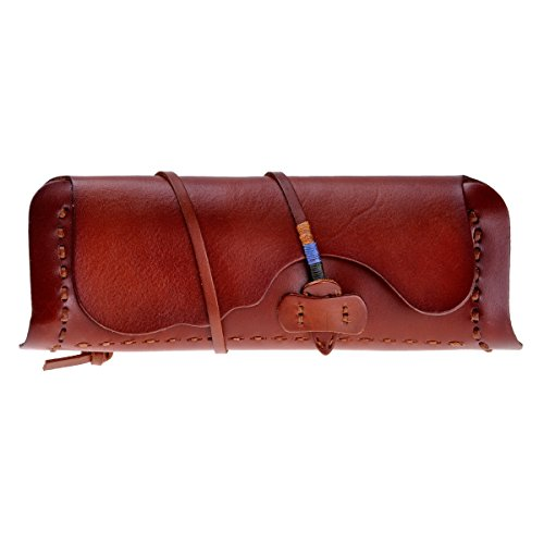 47ea833abe ZLYC Women Handmade Fashion Vegetable Tanned Leather Belt Closure Wallet  Clutch