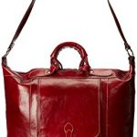 Floto Luggage Tack Italian Duffle, Tuscan Red, Medium
