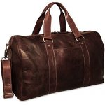 Jack Georges Voyager Large Duffle Bag 7719 (BROWN)