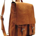 Floto Forum Pack, Leather Backpack in Saddle