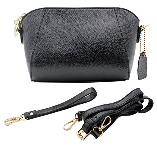 VentoMarea Multifunctional Wristlet Clutch Wallet Shell-Shaped Crossbody Purses with Shoulder Strap for Women