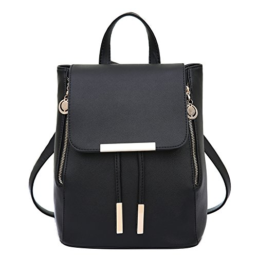 081bae990959 Womens Backpack Purse Leather Mini Casual Daypack for Girls Schoolbag  Laptop Bag