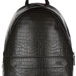 Armani Collezioni / Jeans men's leather rucksack backpack travel green