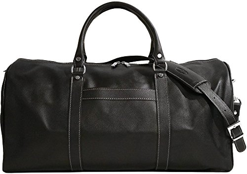 Lugano Cabin Travel Duffle Bag in Saffiano Leather
