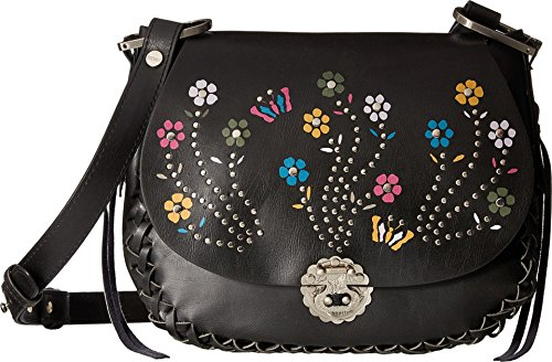 Circus by Sam Edelman Womens Marley Embroidered Saddle Crossbody