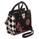 DC Comics Harley Quinn Deluxe Mini Brief Handbag Purse Satchel