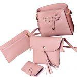 dolly2u Four Set Handbag Shoulder Bags Four Pieces Tote Bag Crossbody Wall