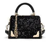 Inverlee Leopard Messenger HandBag Women Sequin Cross Shoulder Bag Handbag