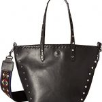 Circus by Sam Edelman Womens Lela Faux Leather Embroidered Tote Handbag
