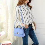 Hynbase Mini Fashion Sweet Lady Cross Body Leather Shoulder Bag