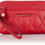 Vera Bradley Quilted Sophie Wristlet, Leather