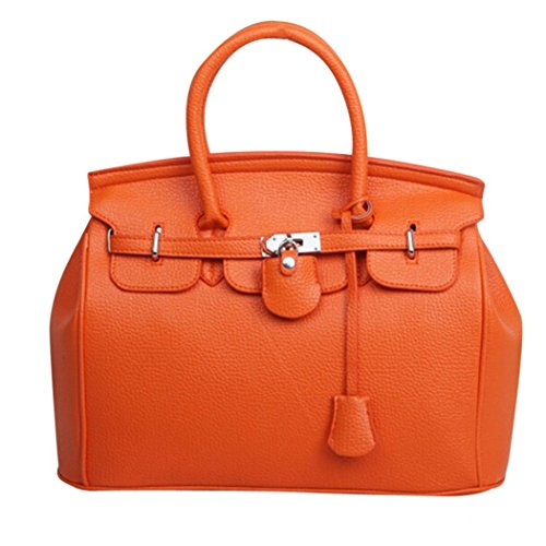 Women Handbag, Among Simple Larger Capacity Bags Fashion Leather Shoulder Satchels Zipper & Hasp Package Versatile Packet