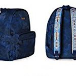 Musterbag Azteca Student Adult Backpack Camouflage Graphic Blue