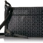 Calvin Klein Key Item Monogram Multi Entry Crossbody