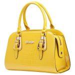 HIFISH HB110072 PU Leather Women's Handbag,Square Cross-Section Commuter Bag