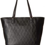 Vera Bradley Micro-Stud Ella Tote, Leather