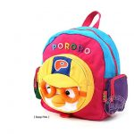 Pororo Face Backpack Toddler Kids Plush Backpack (2 to 5 years) PR142 Pink