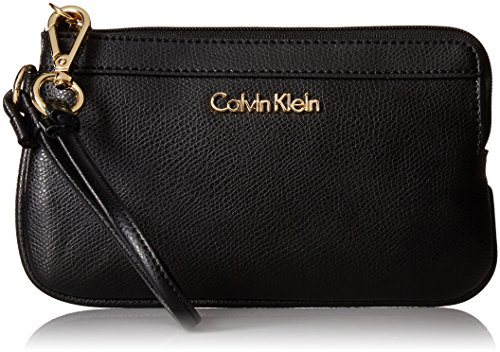 Calvin Klein Mercury Leather Wristlet