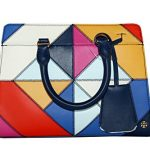 Tory Burch Parker Diamond Stitch Small Satchel Leather Women's Handbag