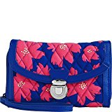 Vera Bradley Women's Ultimate Wristlet Art Poppies Clutch