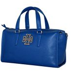 Tory Burch Britten Satchel Women's Leather handbag Bondi blue 39056