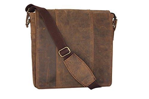 LUST Mens Real Leather Laptop Briefcase Bag Satchel Shoulder Messenger Bags