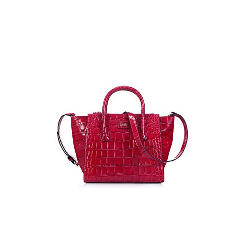 Barbie Retro Fashion Travel Commuter Split Leather Handbag&Cross-body Bag Shoulder Bag #BBFB101