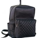 LUST Leather Vintage Backpack Casual Bookbag Men Women Rucksuck School Bag (Black)